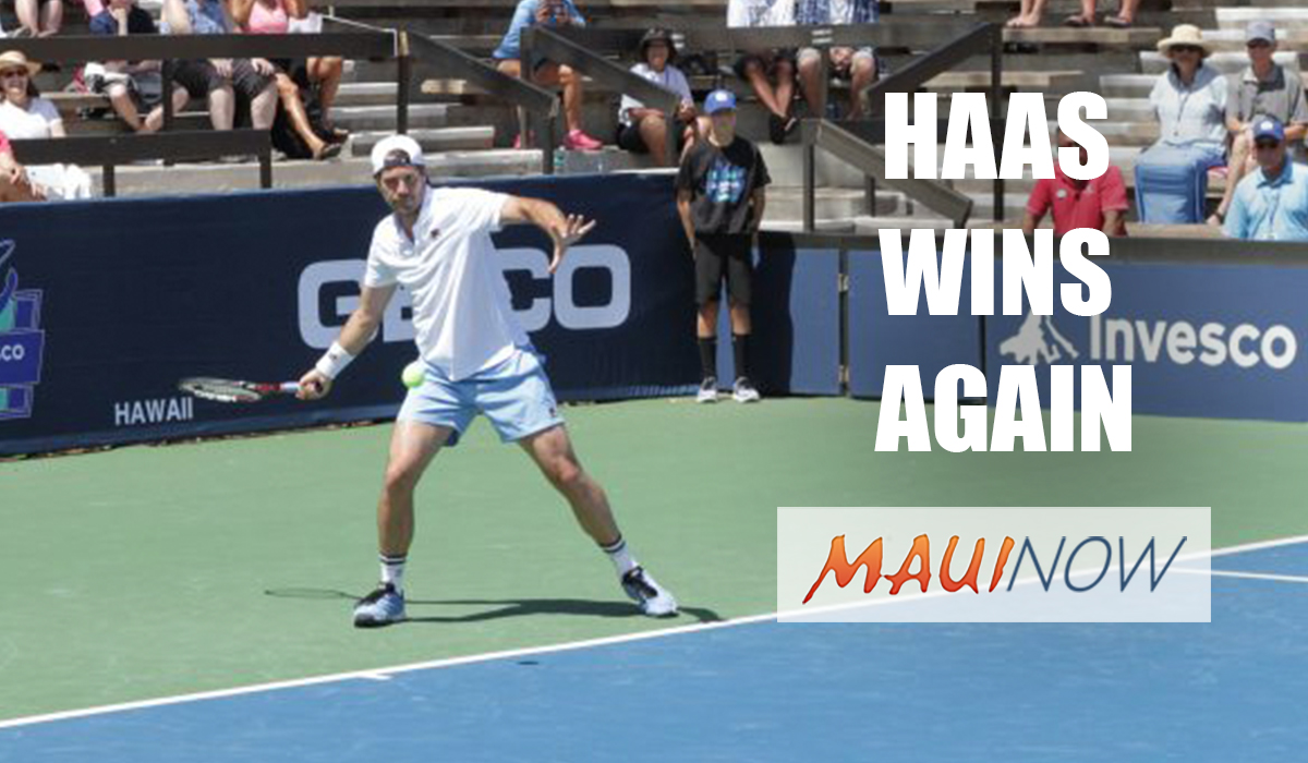 Haas Earns 2nd Hawaii Champions Cup Title