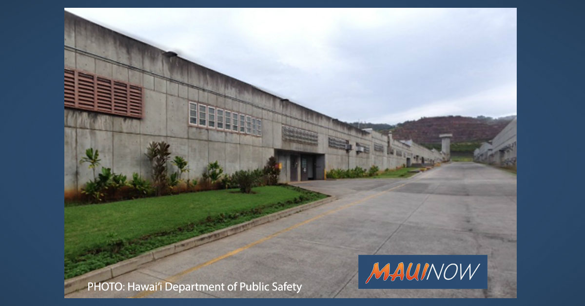 Hālawa Correctional Facility Inmate Death Classified as COVID-19 Related