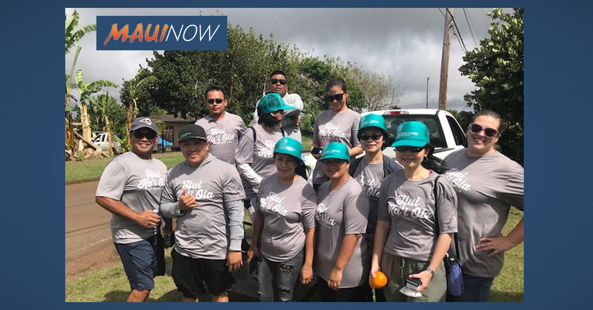 2019 Charity Walk Kicks Off on Moloka'i and Lāna'i
