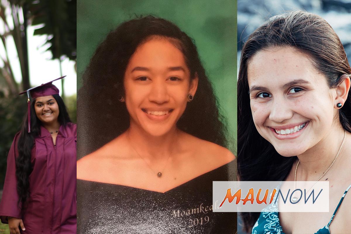 Three Maui County Graduates EarnScholarships