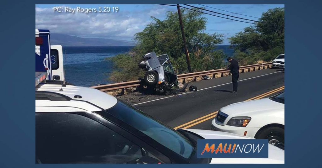 Maui Now : Deadly Honoapi'ilani Accident Claims Life of Lahaina Man