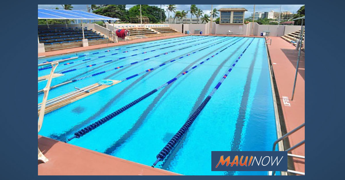 Reservation System Established for Select Maui County Swimming Pools