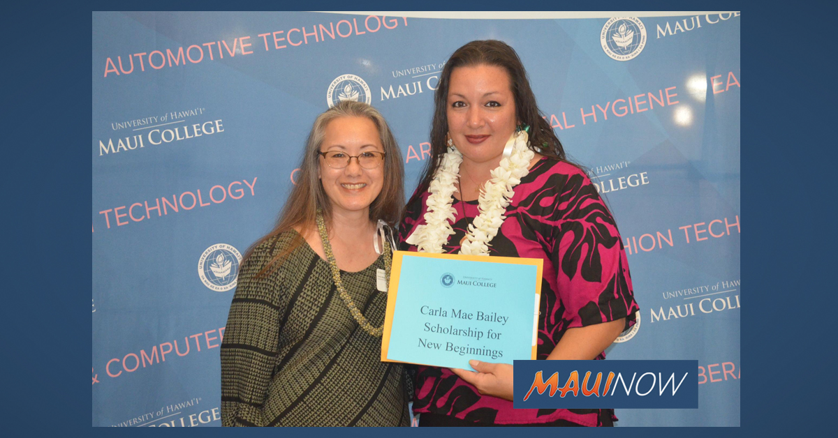 $280K in Scholarships Maui College Students Achieve Degrees