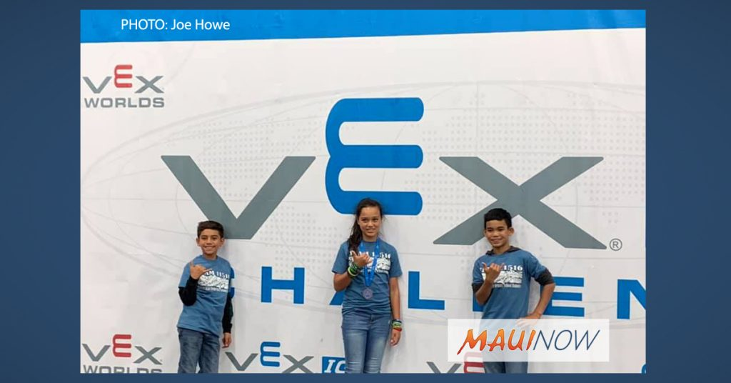 MolokaÊ»i Kids Celebrate Success At Vex Robotics World Competition Maui Now To join a game in progress, select a game from the select a game list, then press the join game button. vex robotics world competition maui
