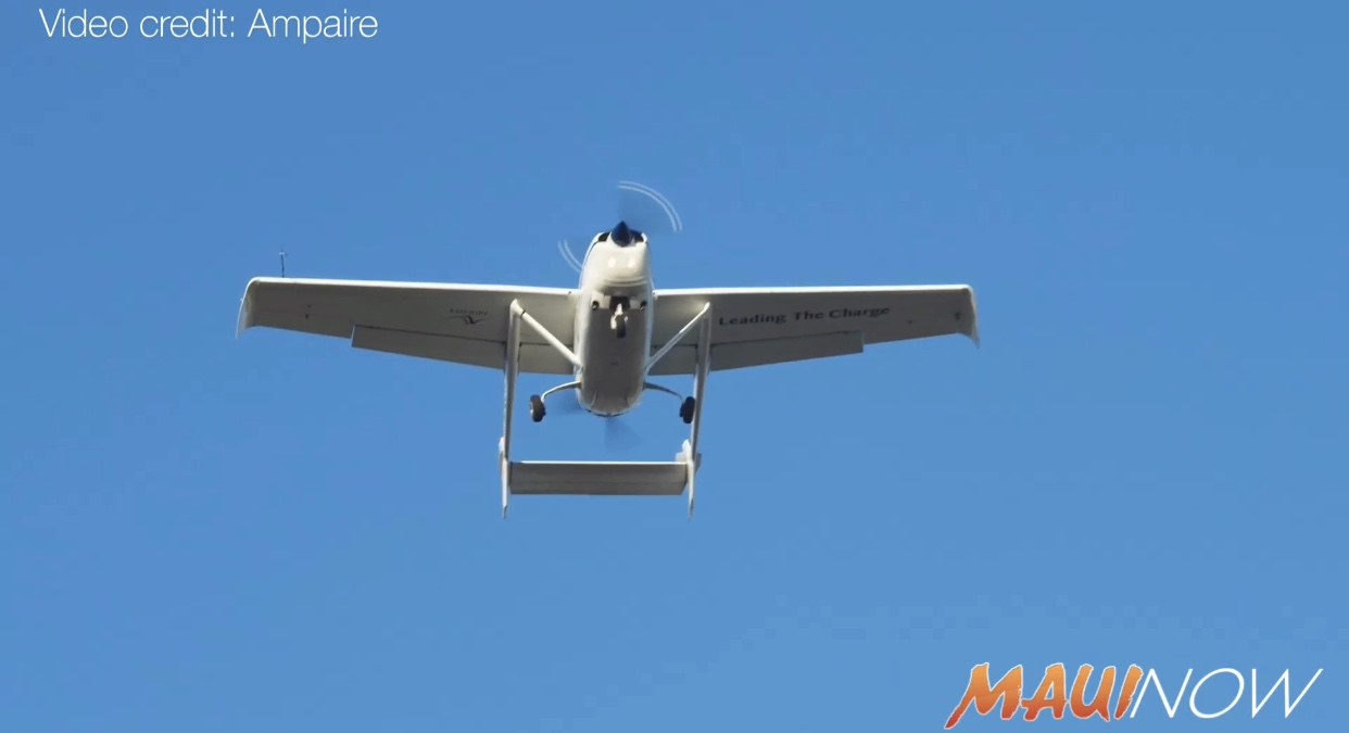 First Public Flight of Largest Electric Aircraft