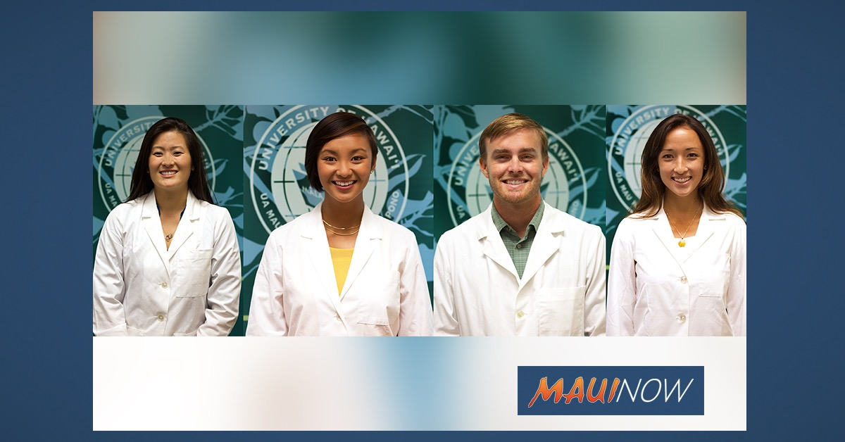 UH Medical School Graduates Include 4 from Maui