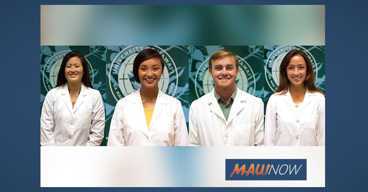 UH Medical School Graduates Include 4 from Maui