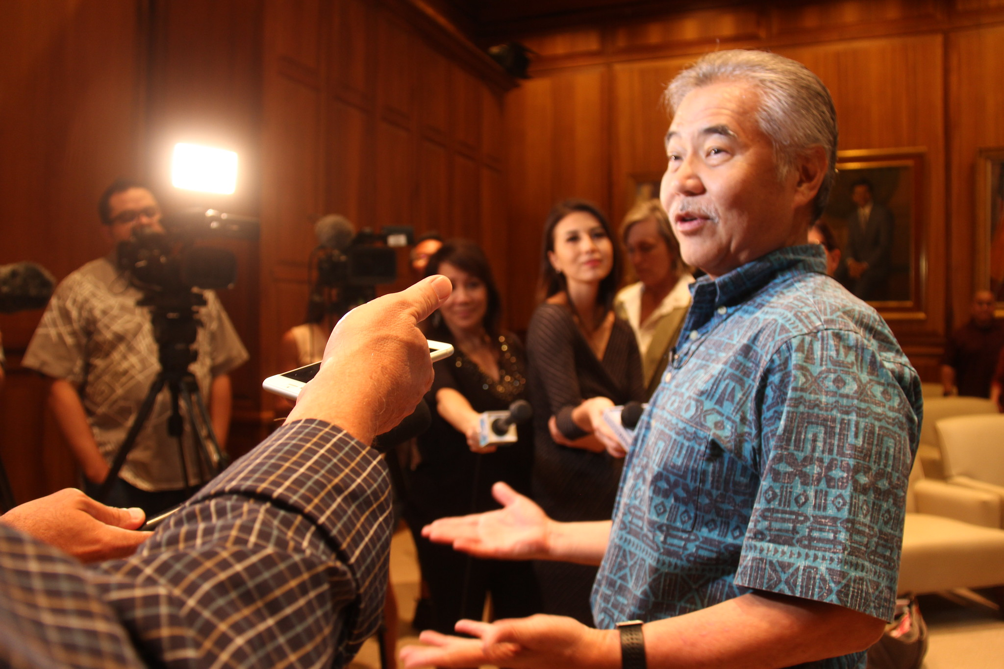 Ige Meets with Trump on Workforce Development