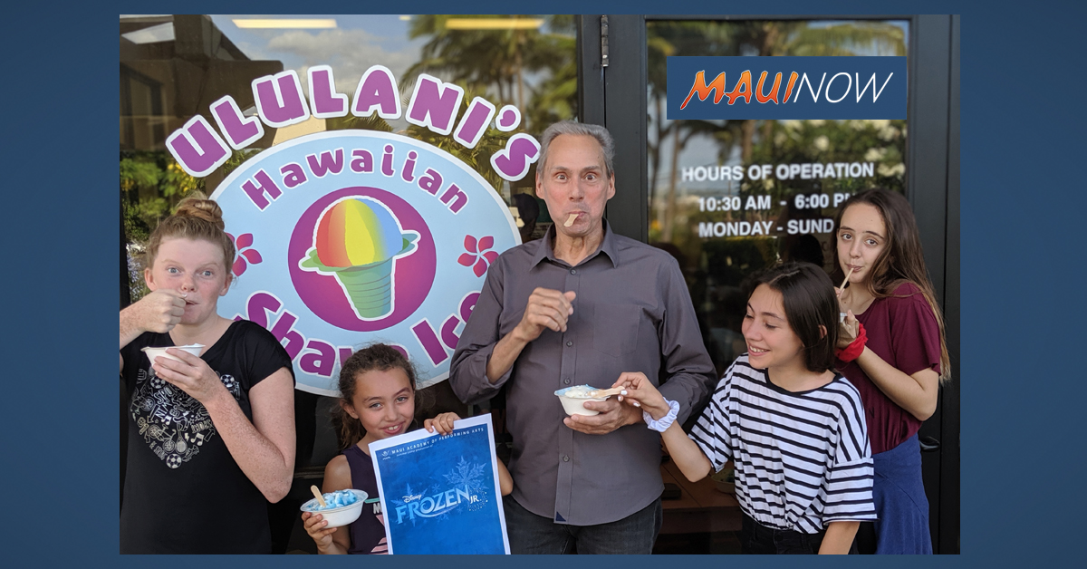 MAPA Presents Frozen Jr. With Help From Ululani's