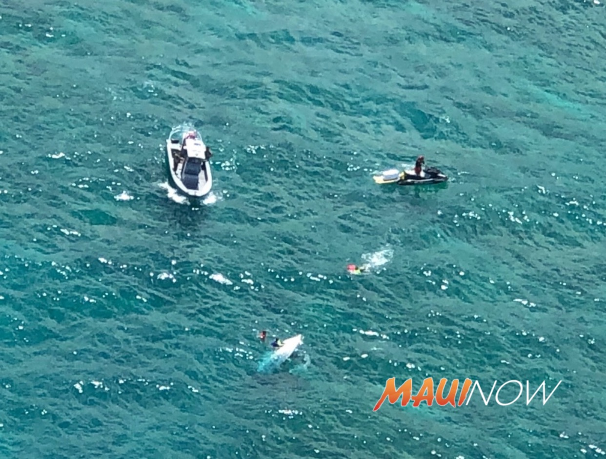 5 Rescued From Capsized Vessel Off Kāneʻohe