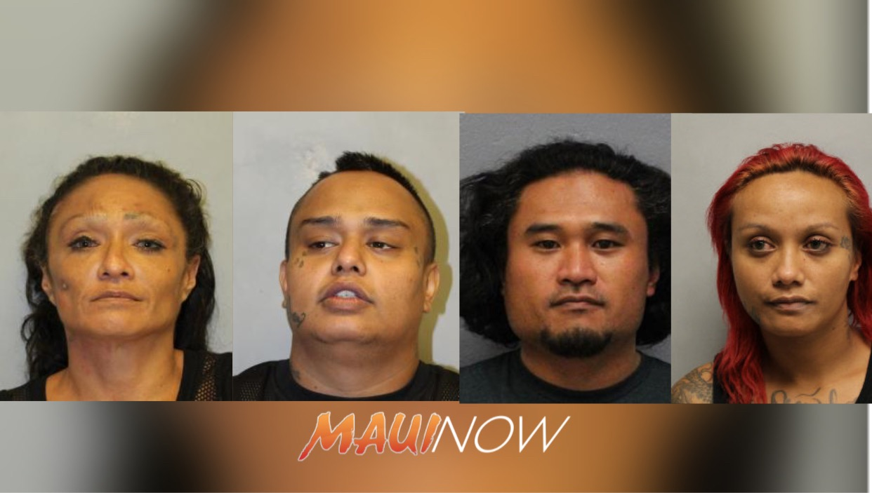 Four Arrested in Puna Kidnapping and Assault Investigation