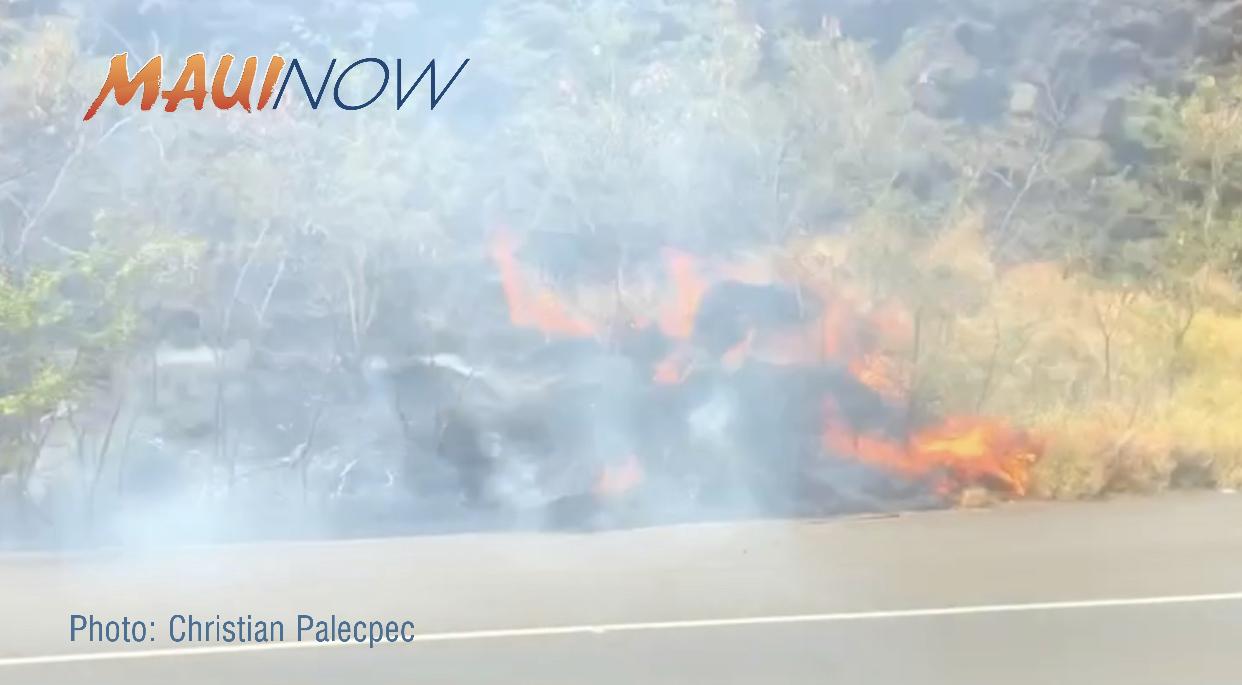 Honoapiʻilani Hwy Now OPEN Following Fire in Māʻalaea