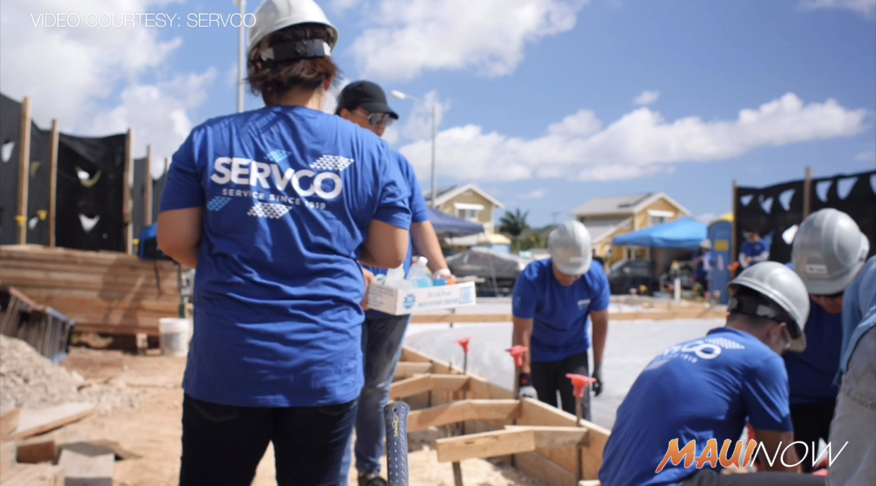 Servco Employees Build Two Homes in Waimanalo with Honolulu Habitat for Humanity