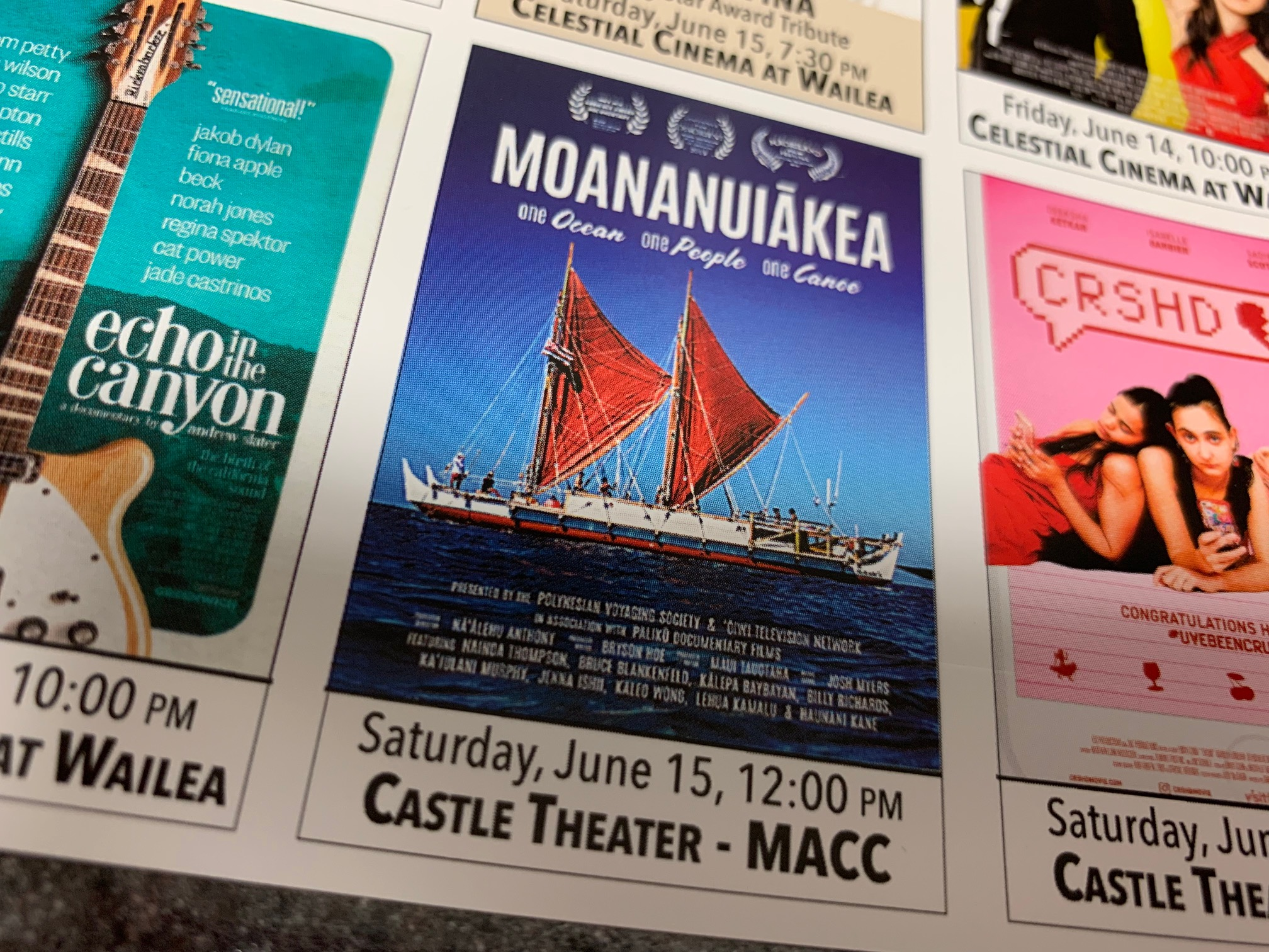 Maui Film Festival Screenings in Castle Theater