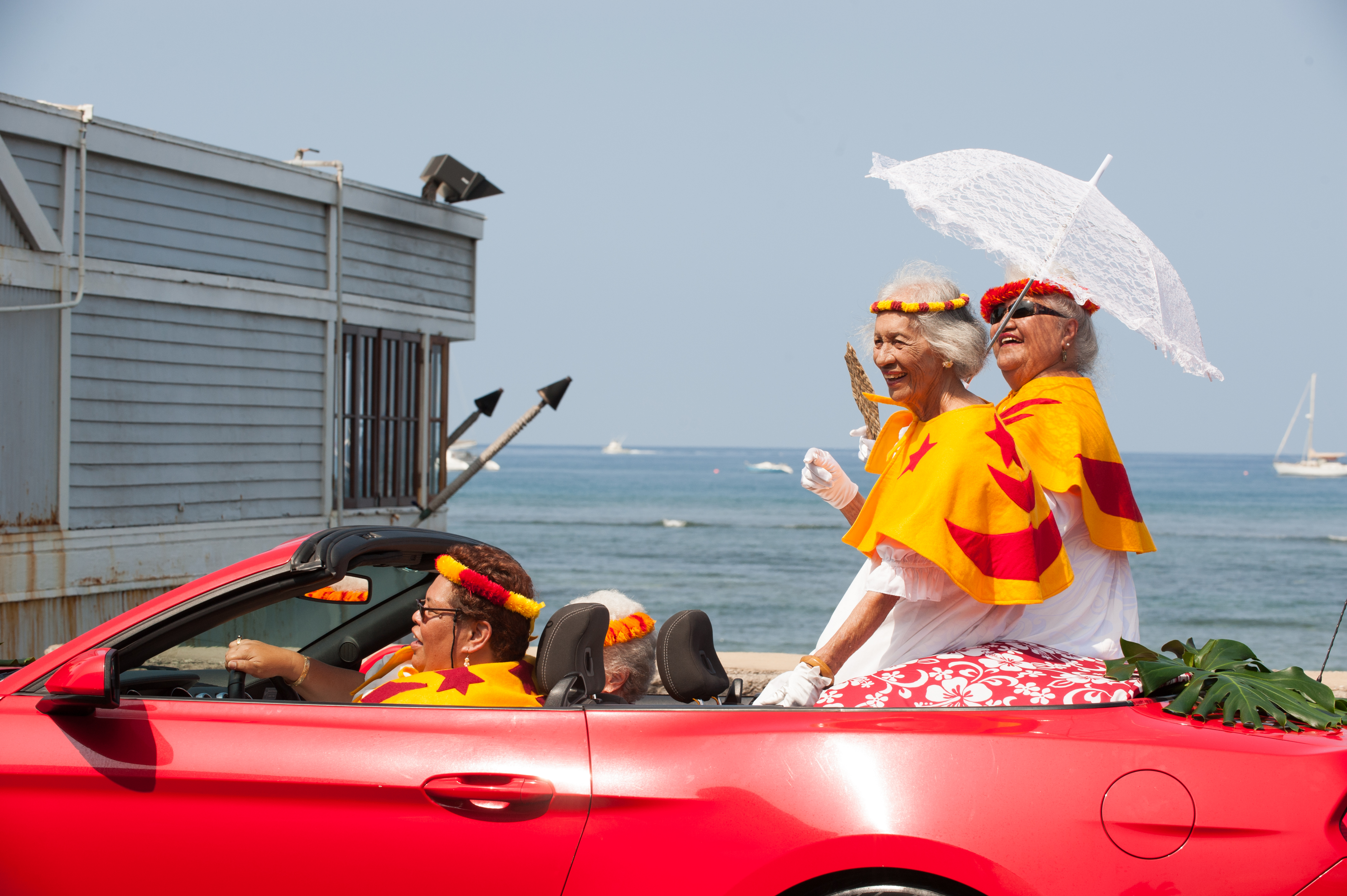 2019 Nā Kamehameha Commemorative Pā'ū Parade and Ho'olaule'a