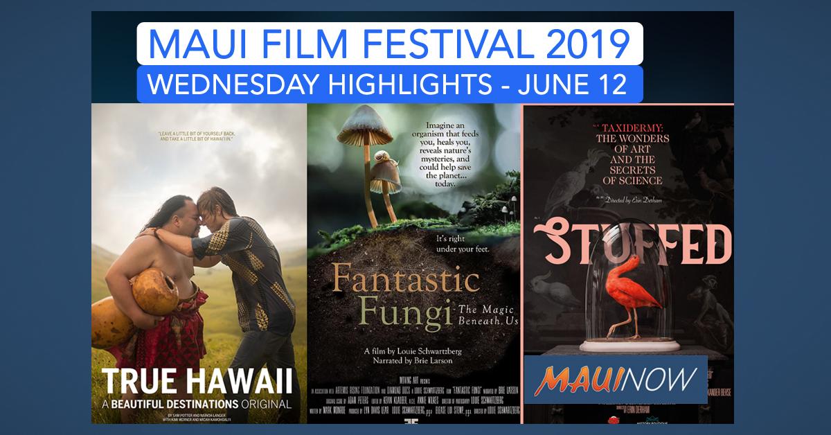Wednesday Maui Film Festival Highlights