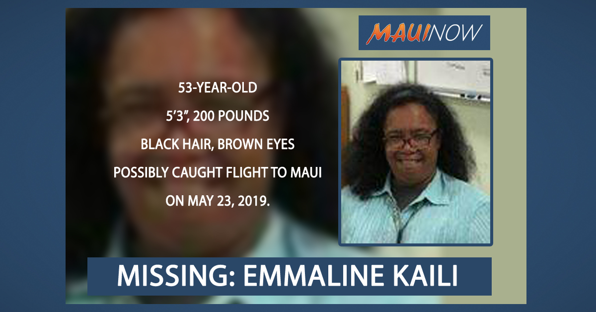 Police: Missing Kaua'i Woman May Have Caught Flight to Maui