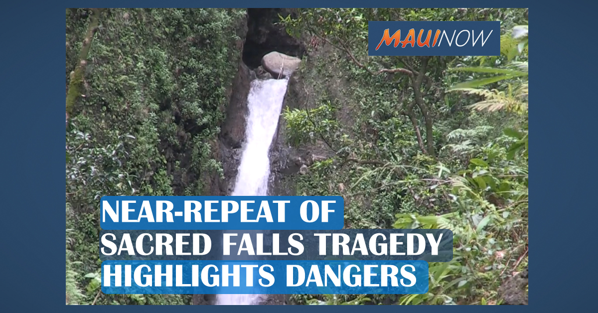 Near-Repeat of Sacred Falls Tragedy Highlights Dangers