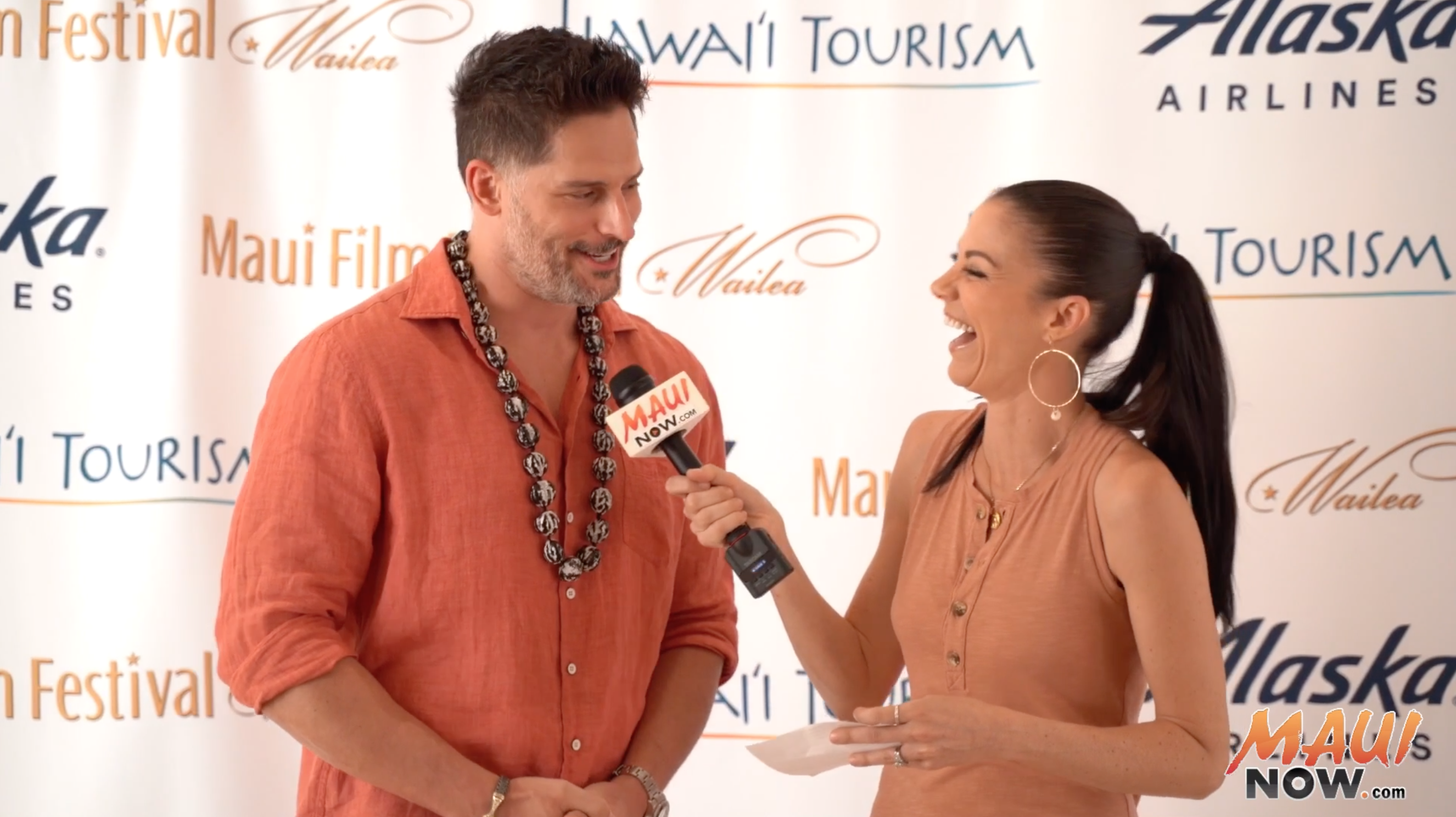 Malika Interviews Joe Manganiello, Maui Film Festival Shooting Star Recipient