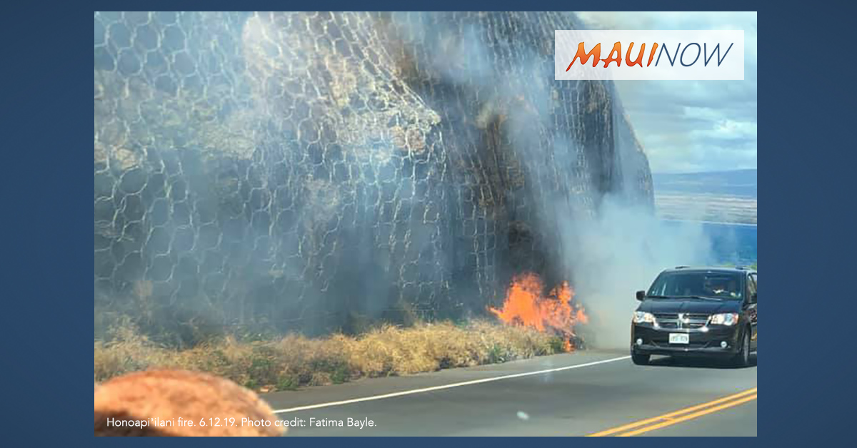 Honoapi'ilani Now OPEN in Mā'alaea Following Brush Fire