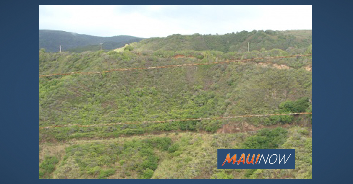 Headwall Repair on Kahekili Hwy Topic of Meeting