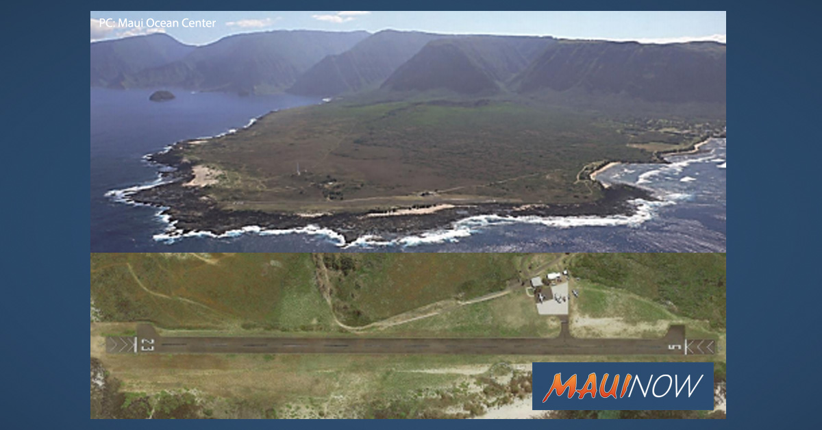 Final EA Filed for Kalaupapa Airport Renovation