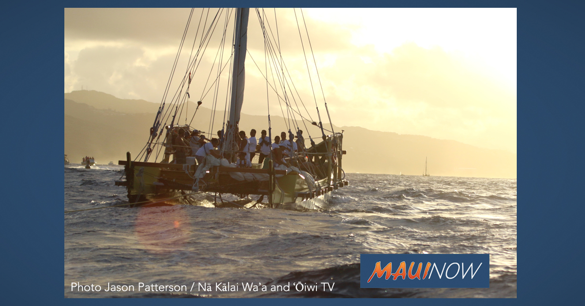 Voyaging Canoe Makaliʻi Embarks on Historic Journey