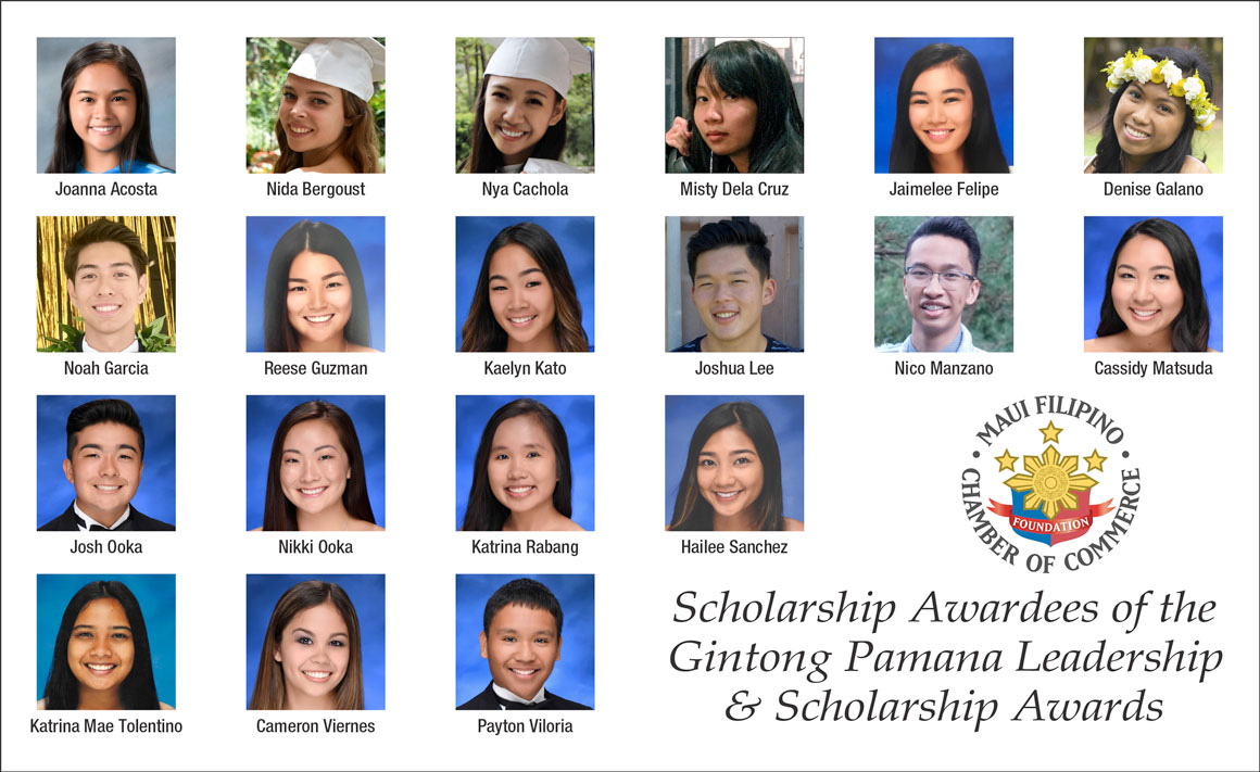 19 Maui Students Earn Filipino Chamber Scholarships