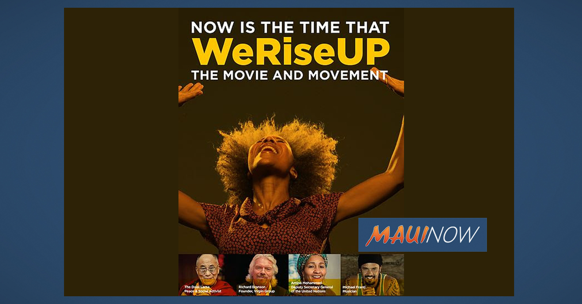 Culture-Shifting Documentary, WeRiseUP Screening June 16