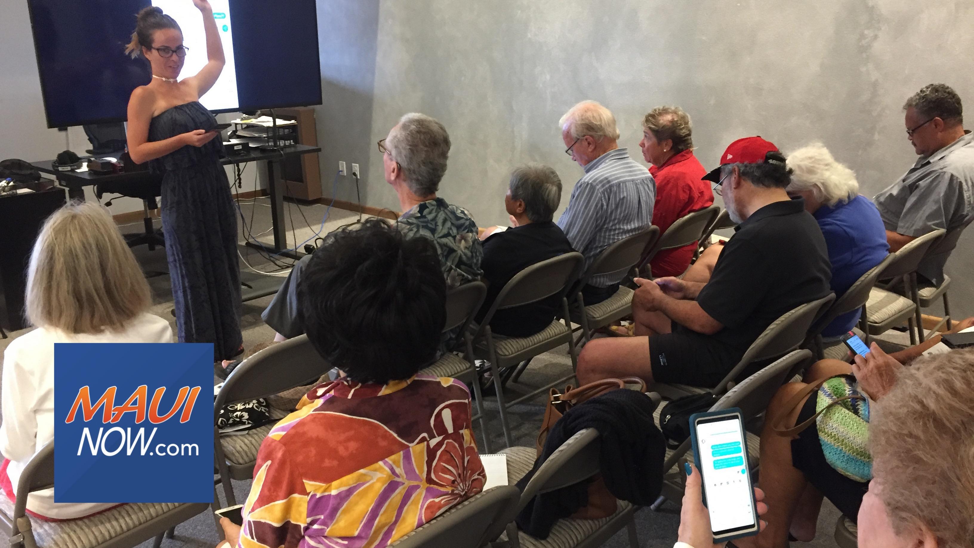 AARP Maui Phone Smarts for 50+, Aug. 29