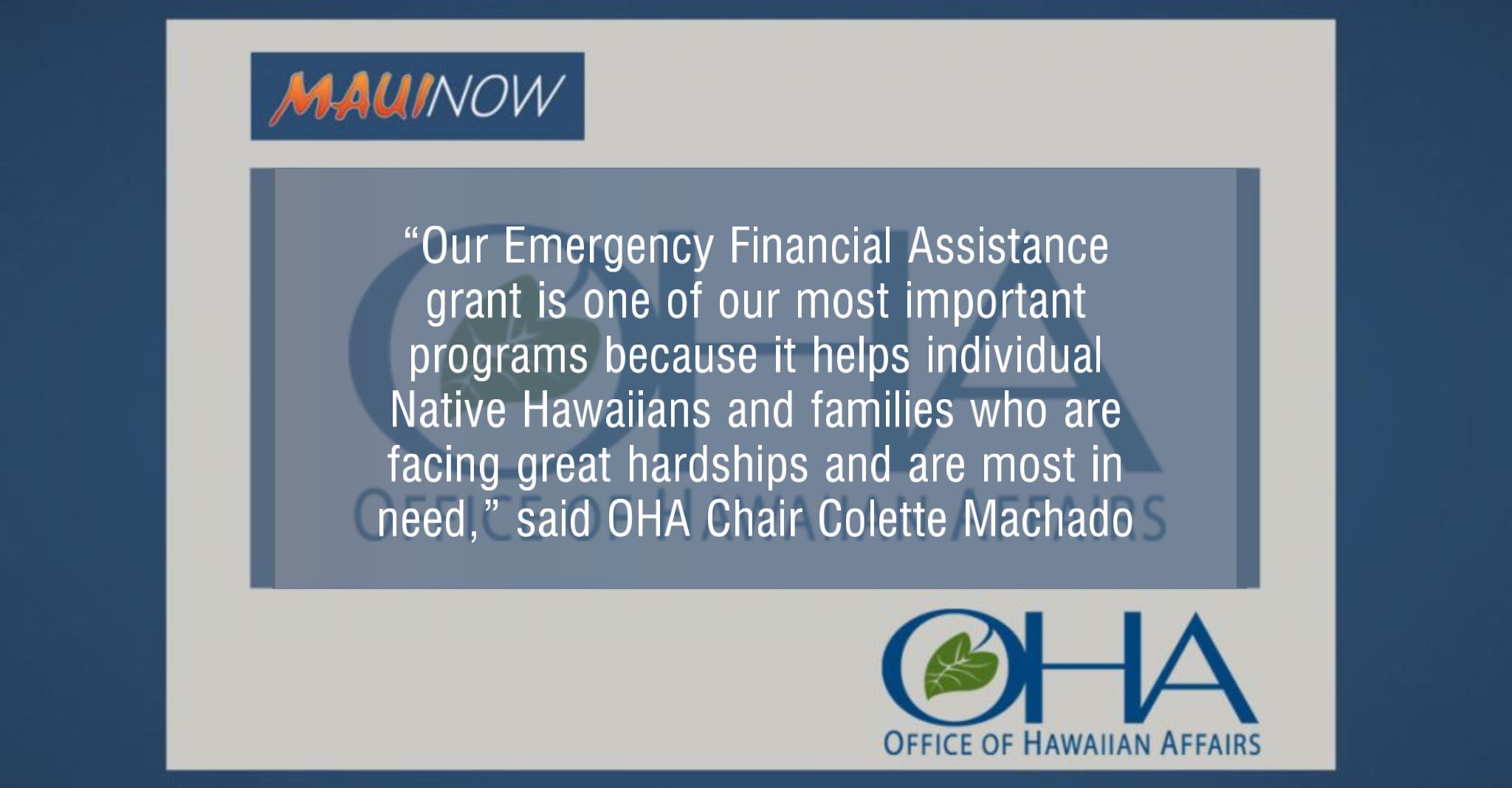 OHA Seeks Nonprofit for $1.66 Million Grant