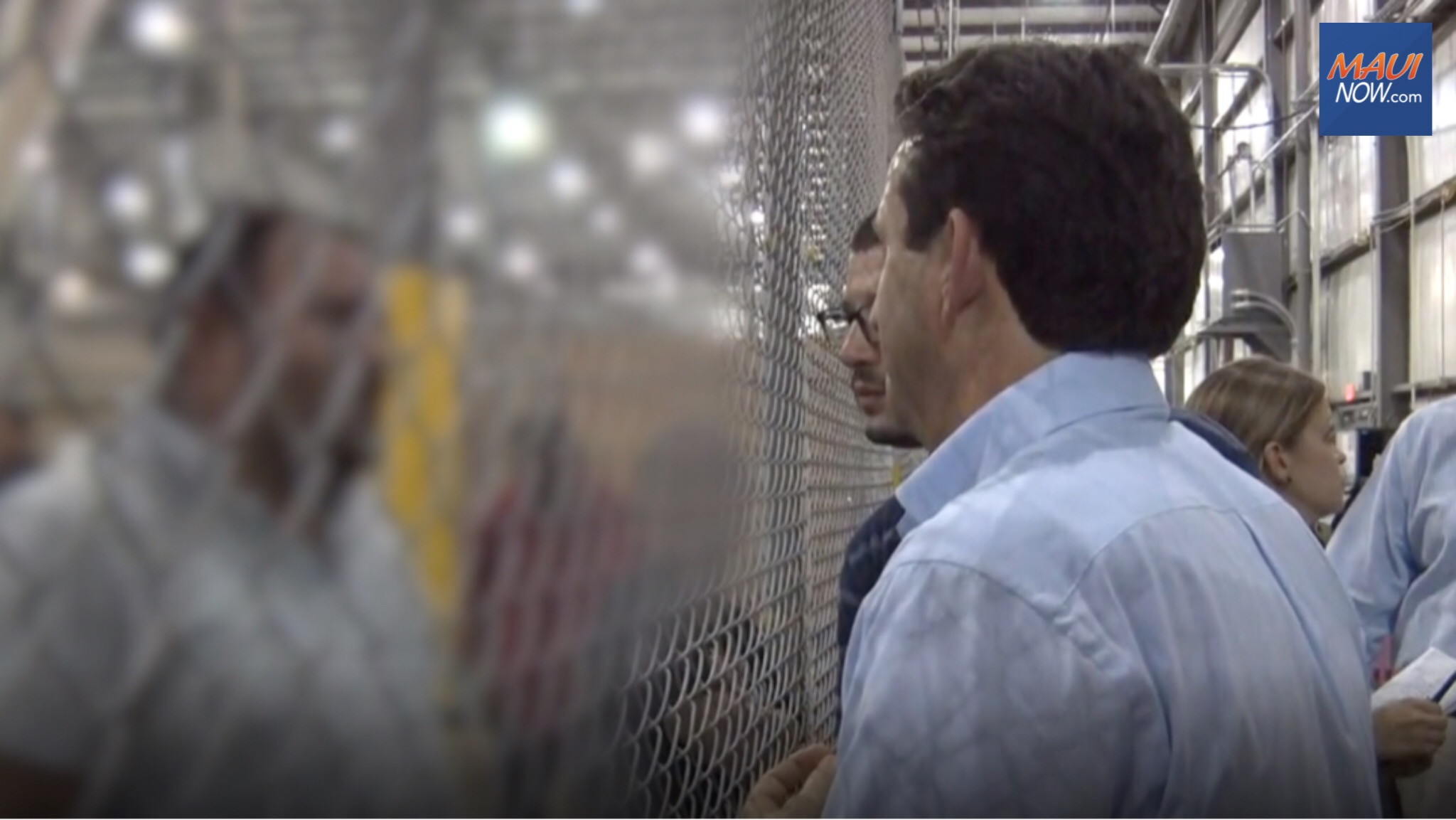 Sen. Schatz Visits Southern Border, Evaluates Conditions
