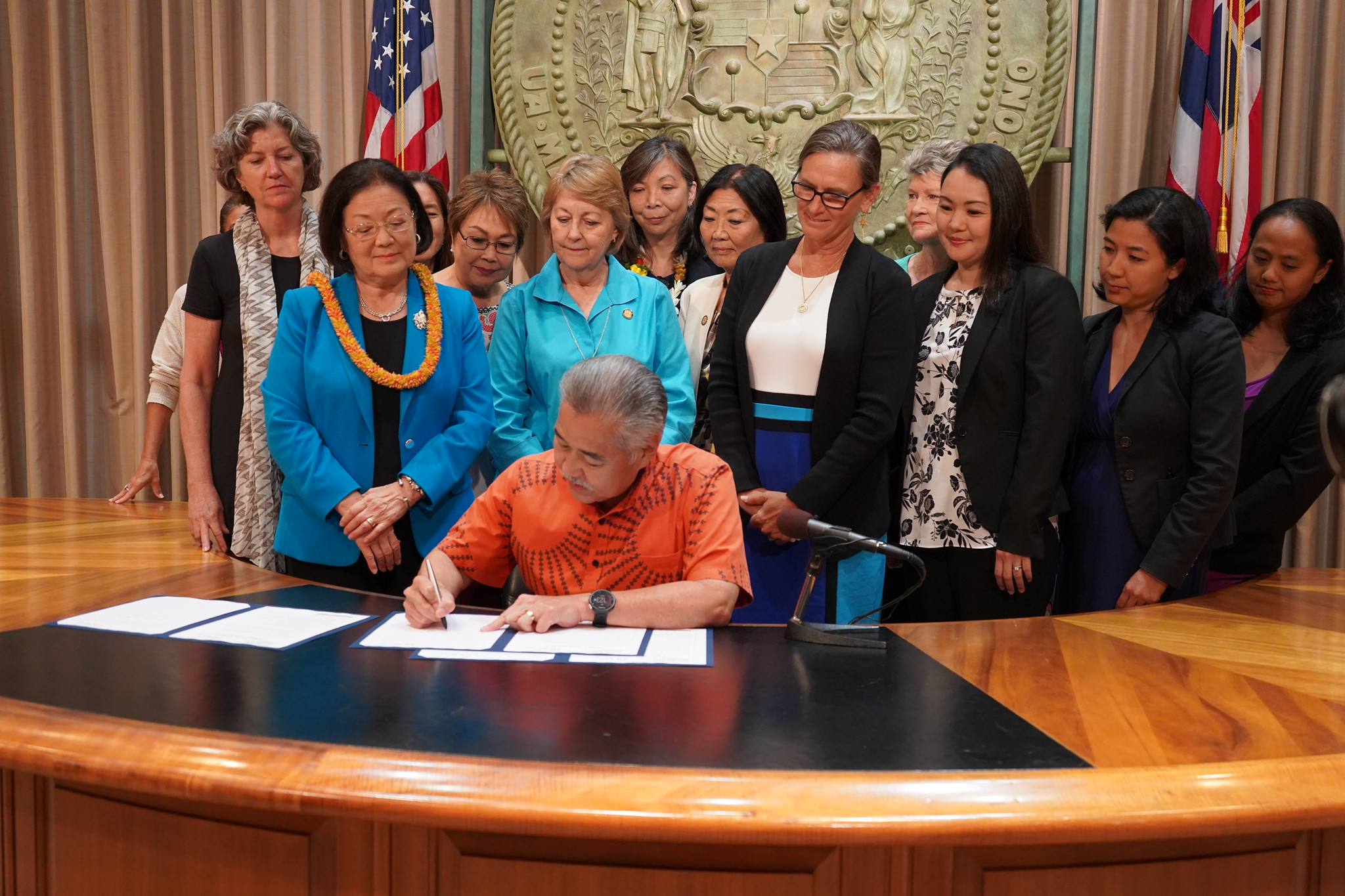 Ige Signs Affordable Housing, Health, Fireworks Bills