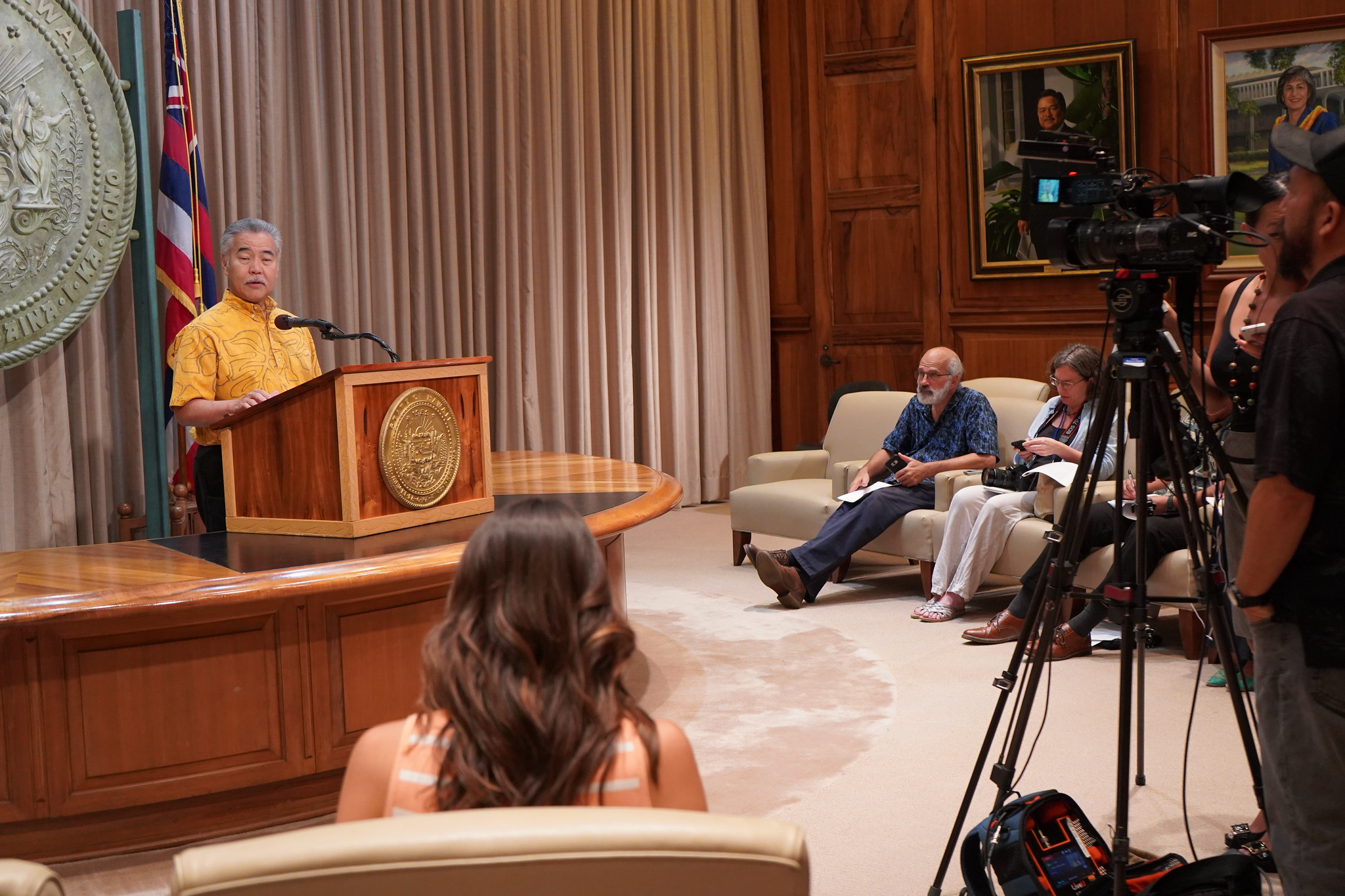 Gov. Ige Discusses Coronavirus, TMT
