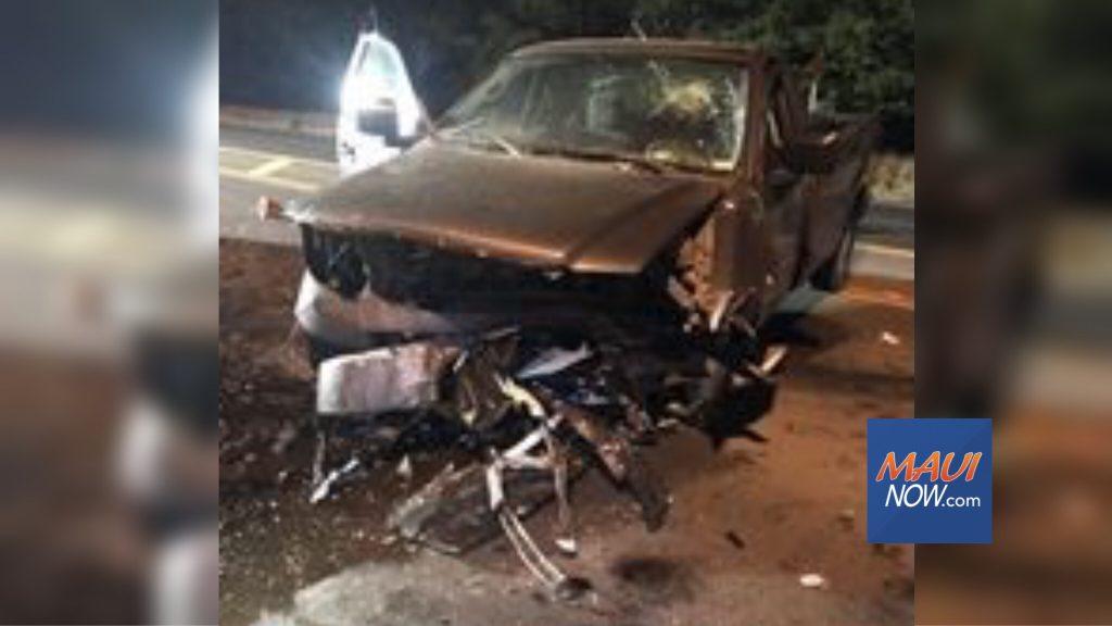 Maui Now : Deadly Piʻilani Highway Crash Claims Life of