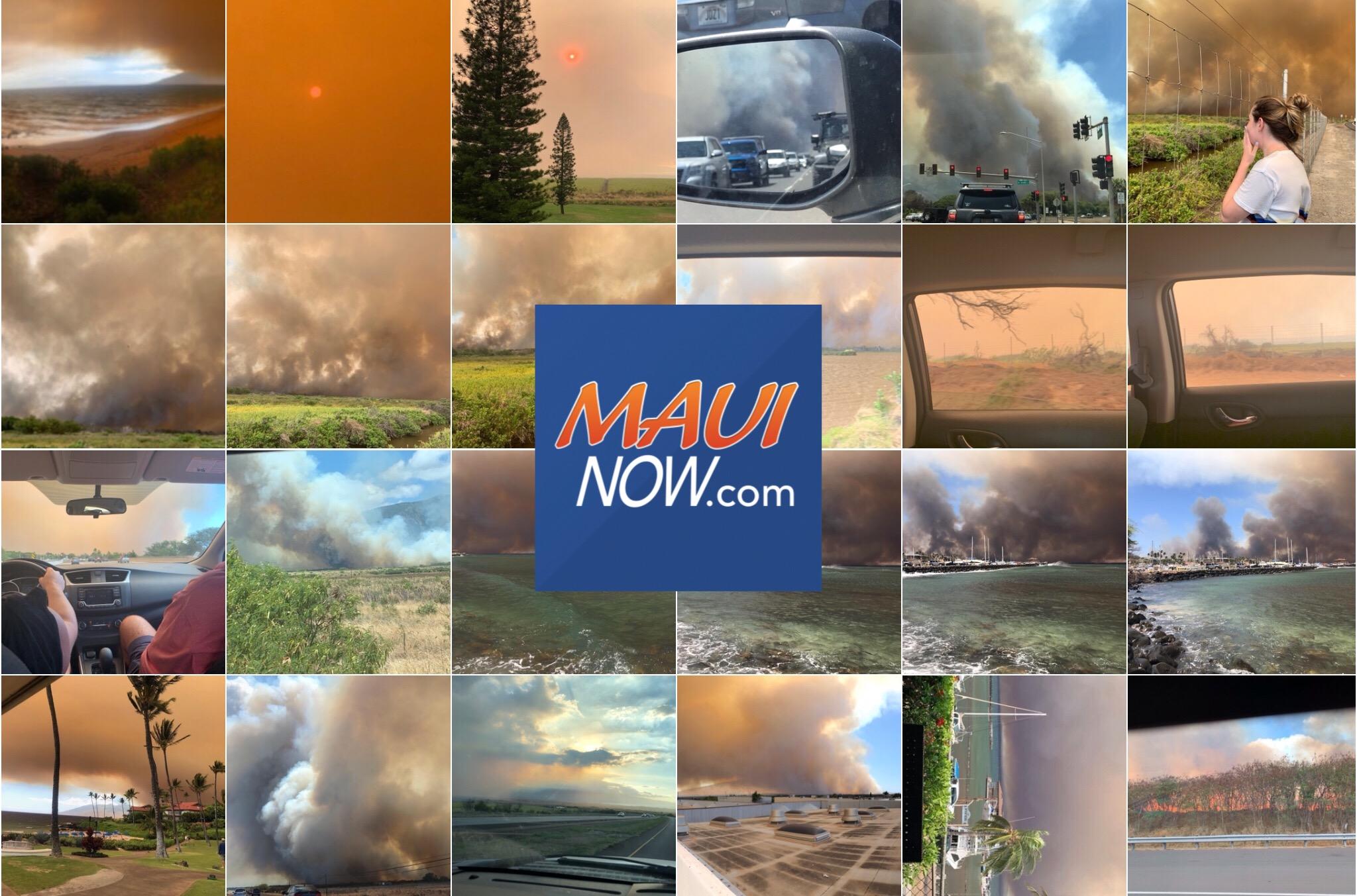 Maui Wildfire Photos