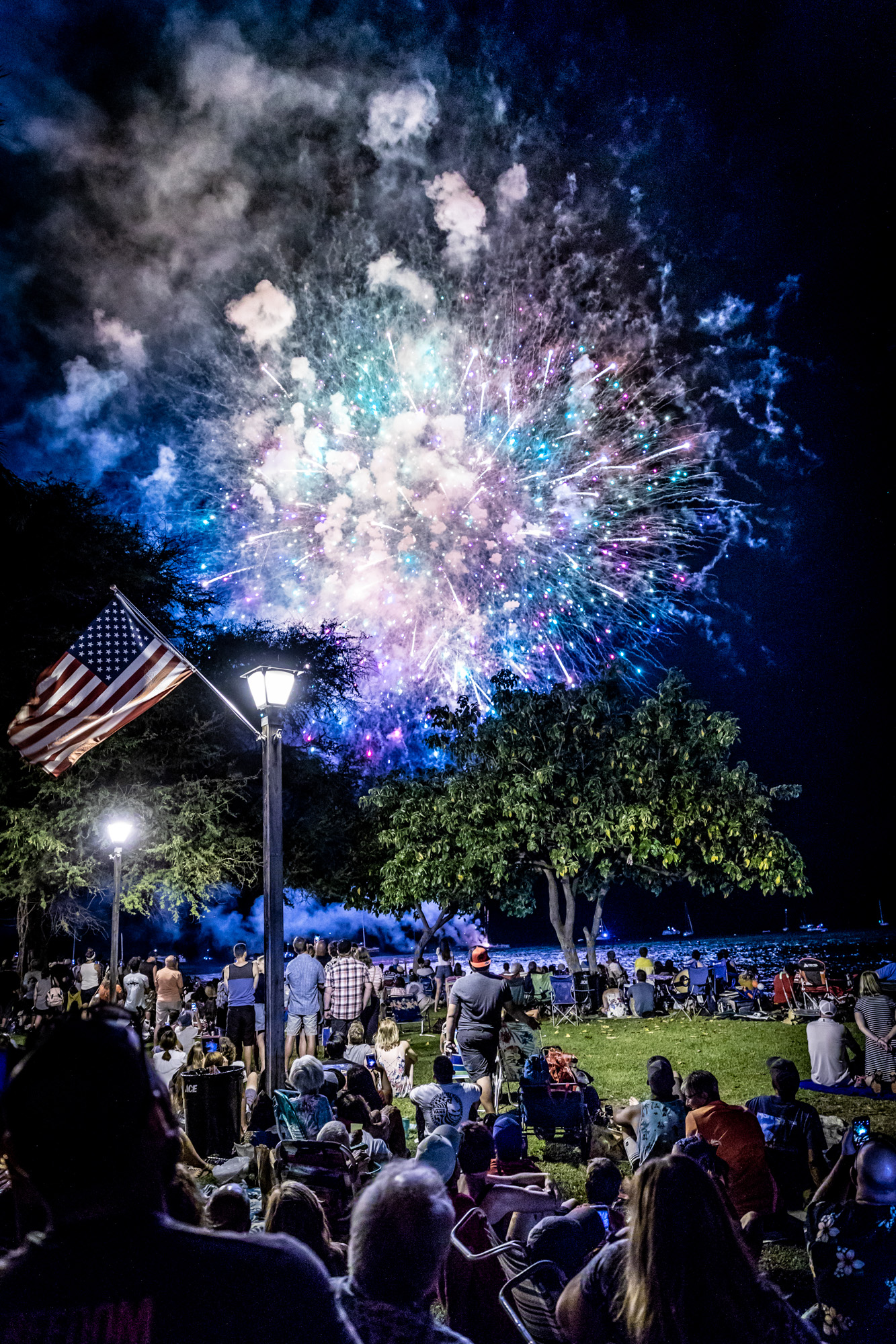 Maui Fireworks Display in Lahaina, Safety Reminders