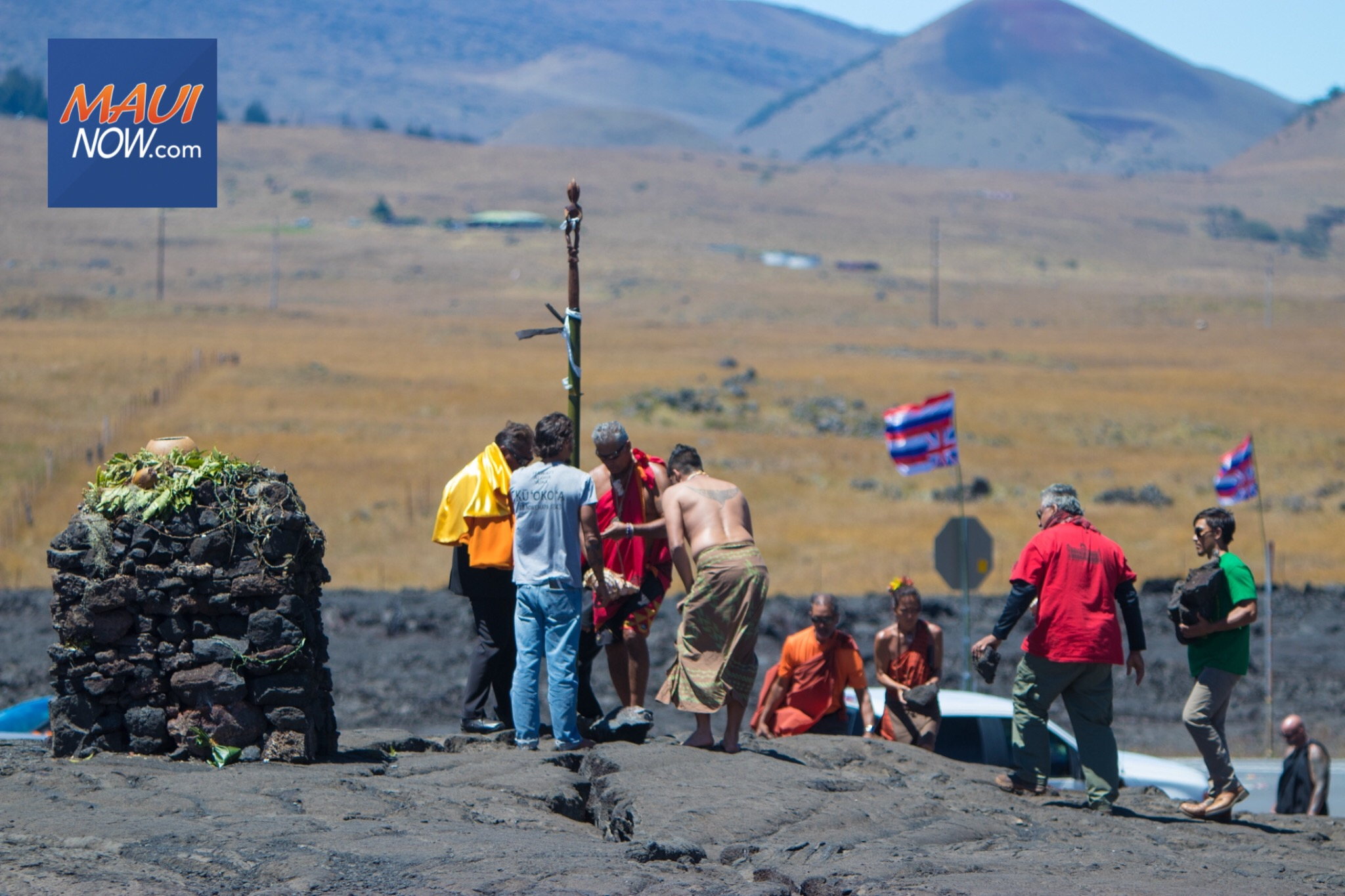 TMT Resistance Proclaims Puʻuhonua at Base of Maunakea