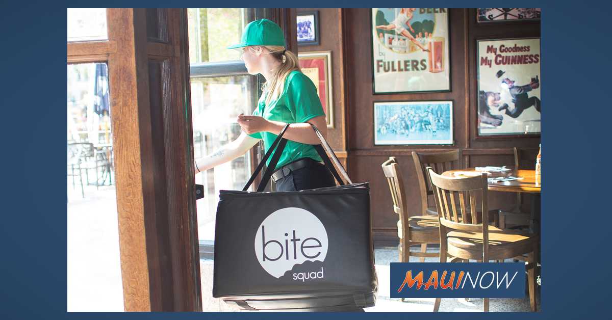 Bite Squad Expands to Kīhei, Adds Breakfast Delivery in Kahului