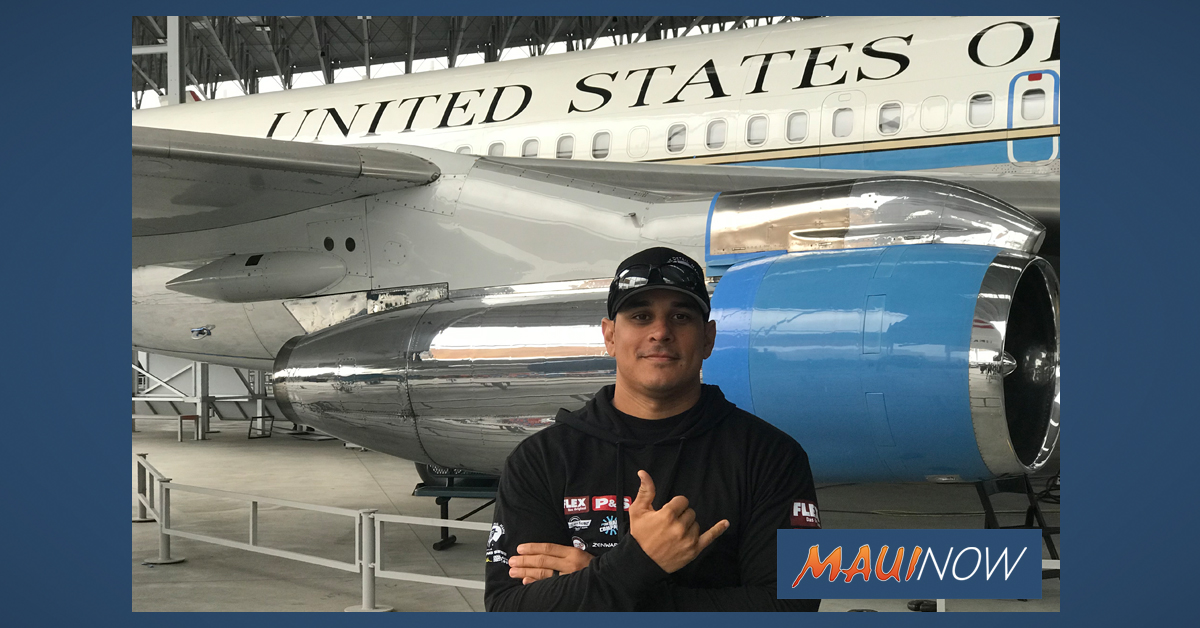 Maui Detailer Selected for 2019 Air Force One Detailing Team