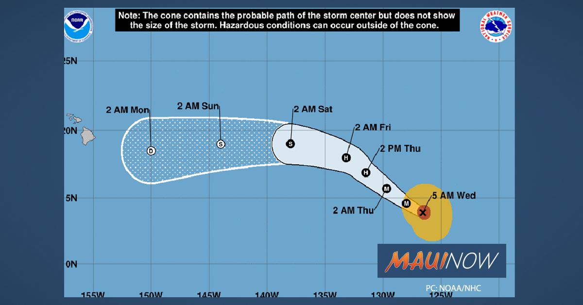 Hurricane Barbara Has Likely Peaked in Intensity