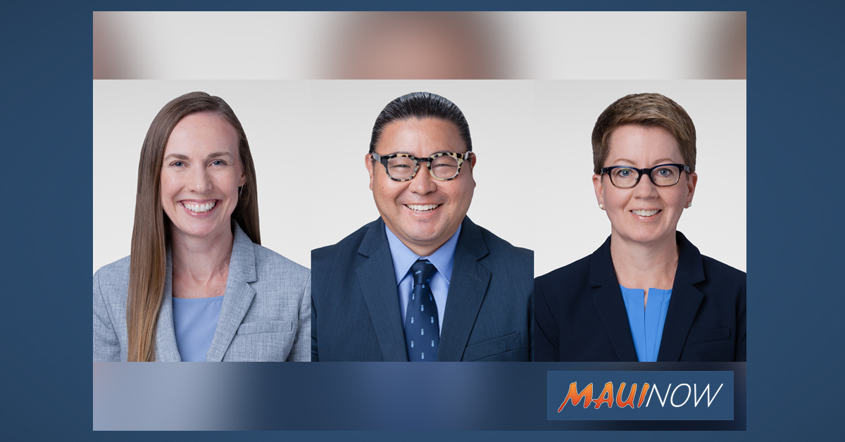 Kaiser Permanente Welcomes Three New Physicians on Maui