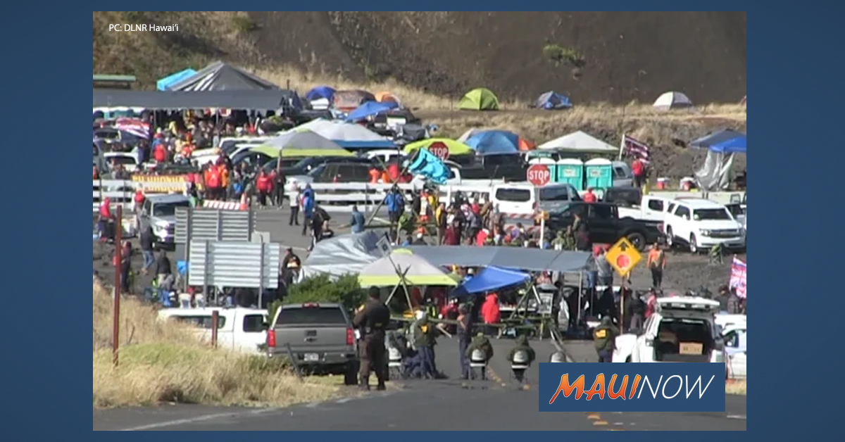 Governor Ige Rescinds Emergency Proclamation at Maunakea