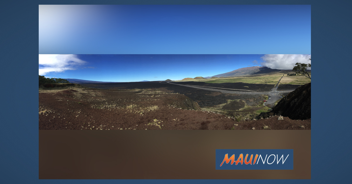 Mauna Loa's 1935 Flow Seen in Current Media Coverage of Maunakea