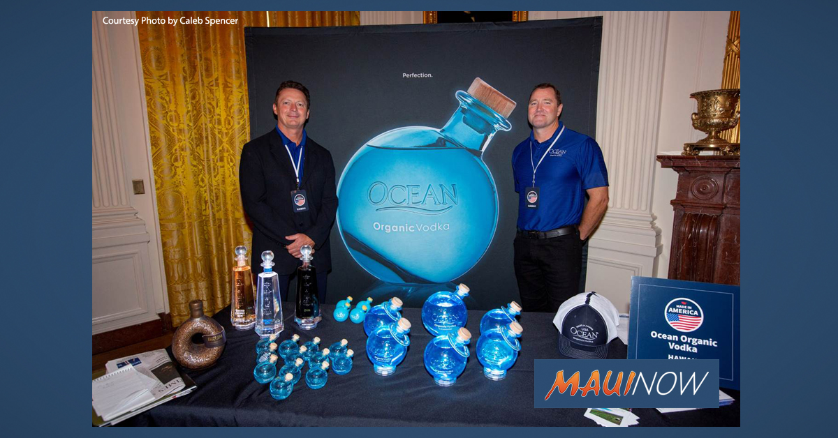 Maui Business Featured in Product Showcase at White House
