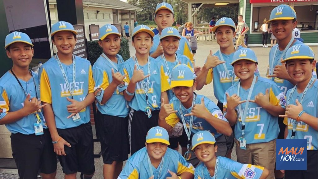 Maui Now: Maui Advances to US Title Game in Little League World Series