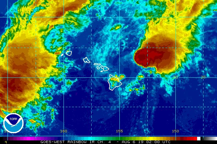 5 p.m.: Tropical Depression Flossie Continues to Weaken: Monday Updates