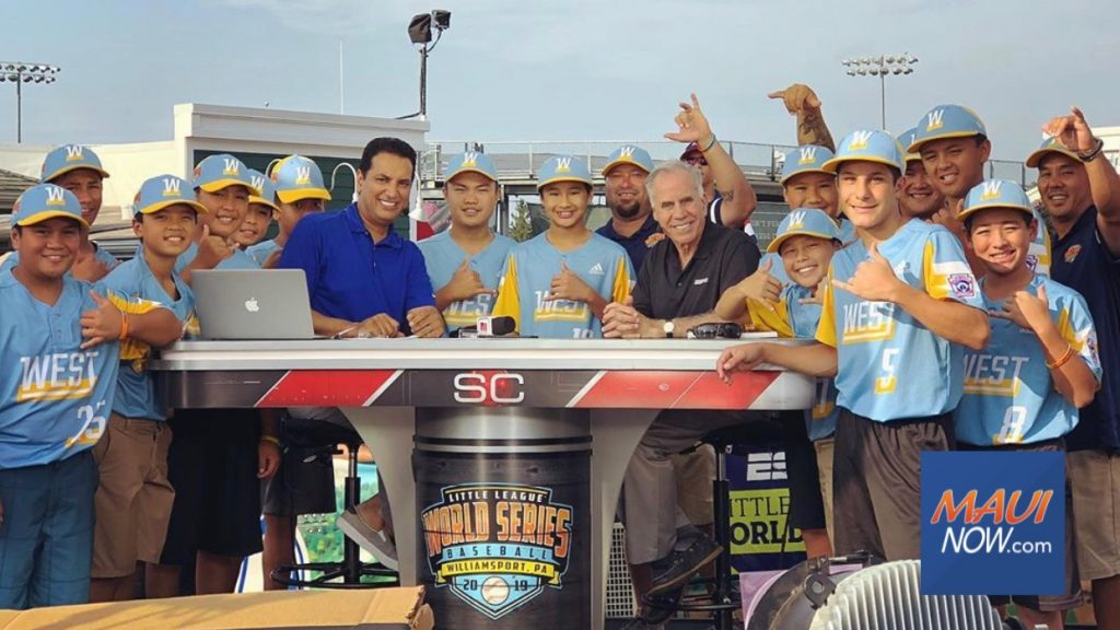 Maui Now: Central East Maui Team Plays for US Little League Title