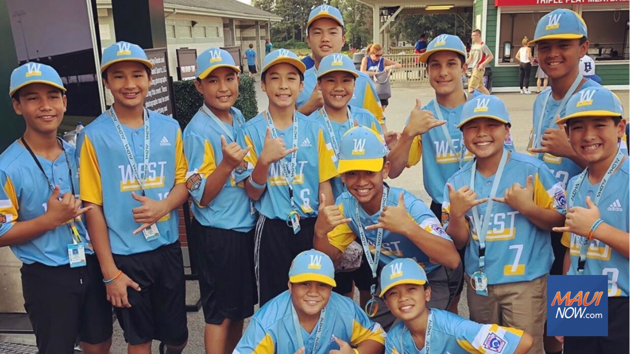 Celebration to Honor Maui Youth Baseball Teams, Sept. 6