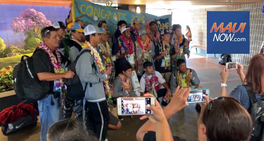 Maui Now : Maui Homecoming: Senior Little League World Champions
